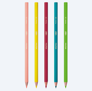 Creioane de colorat BIC KIDS Evolution