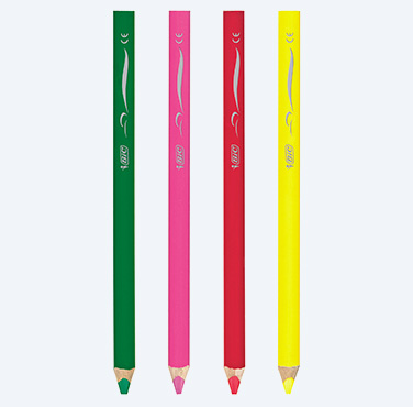 Creioane de Colorat BIC KIDS Super Soft